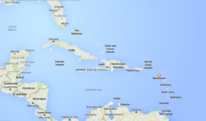 Google Map Caribbean Islands