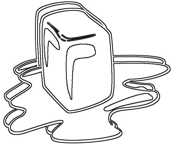 coloring pages melting ice � geeks and geeklets
