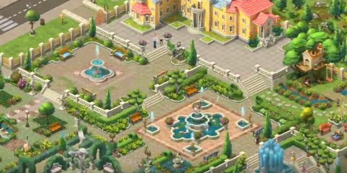Beautiful The Simple Overall Objective Is To Restore The Garden That Your Long Lost  Uncle Left You (along With The Mansion, And The Aid Of The Life Long Friend  And ...